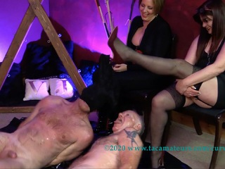 Curvy Claire - BDSM Fun With Mistress VJ Pt4 HD Video
