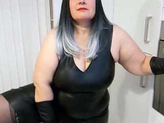 Mrs Leather - Naughty Bottle HD Video