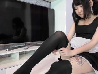 Akuma Loli - French Maid Pt1 HD Video
