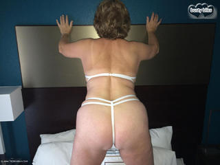 Busty Bliss - White Lace Teddy Picture Gallery