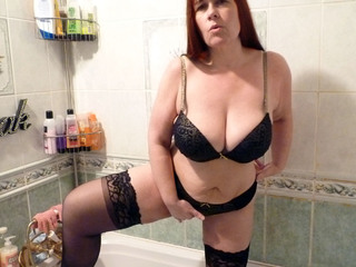 Mrs Leather - Bathroom Pee Picture Gallery