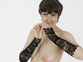 Hot Milf - Black Lace Bodysuit Picture Gallery