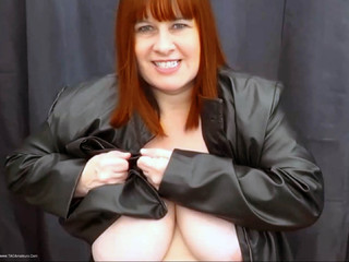 Mrs Leather - Ripping Up My Leather Jacket HD Video