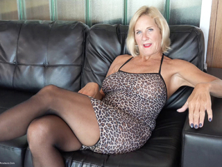 Molly MILF - Leopard Print Dress Pt2 HD Video
