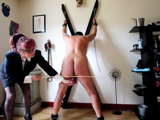 Mary Bitch - Hard Caning Pt1 HD Video