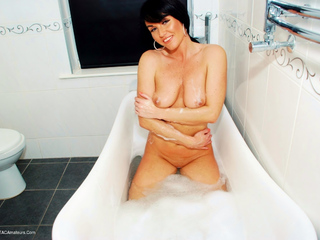Raunchy Raven - Bathtime Nudity  Nakedness Pt2 Picture Gallery