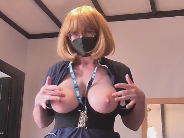 BarbySlut - A Helping Handjob From The NHS