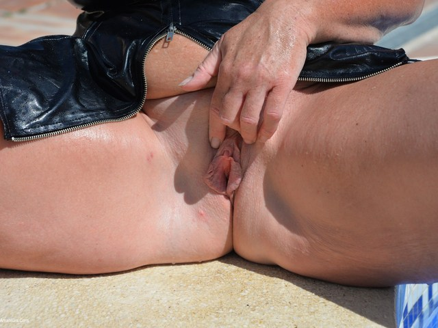 Melody - Getting Wet In PVC Pt4