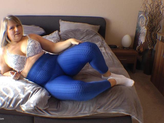 SweetSusi - Blue Spandex Leggings