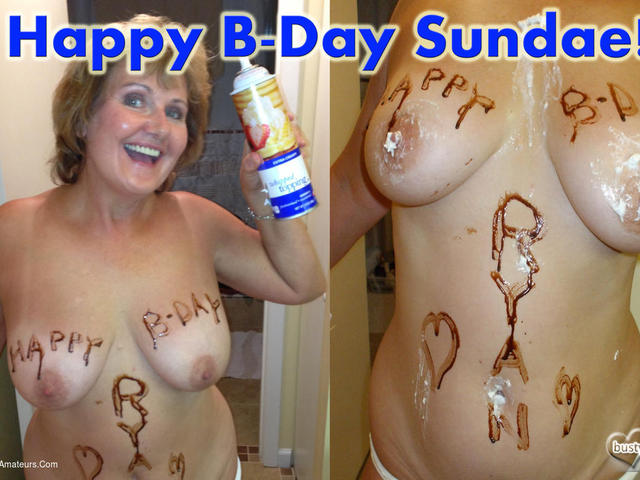 BustyBliss - Happy Birthday Sundae