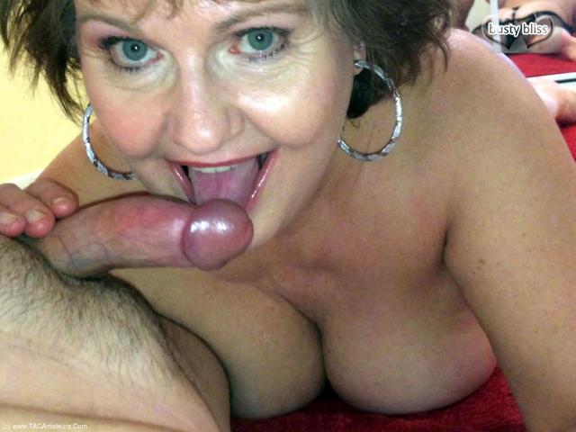 BustyBliss - Hot Cock Sucking Granny