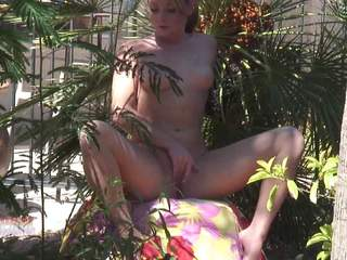 Heavenly Smut - Naked In The Garden HD Video