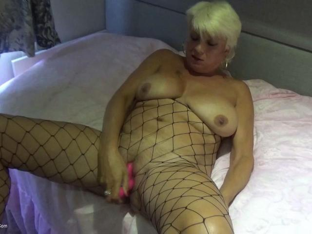 Dimonty - Large Holed Fishnet Dress Pt2