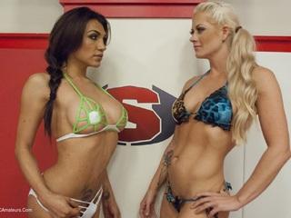 Jessy Dubai - Ultimate Sex Fight Championships Pt1 HD Video