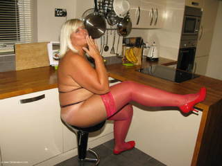 Chrissy UK - Lady In Red Picture Gallery