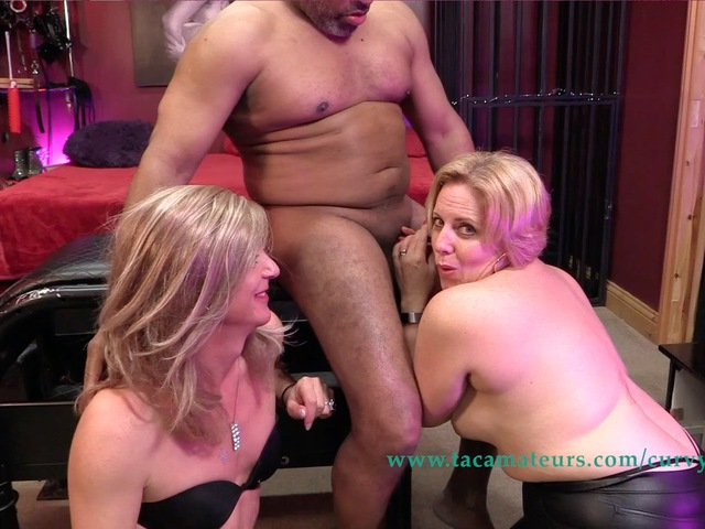 CurvyClaire - Claires Trans Spit Roast Orgy Pt4