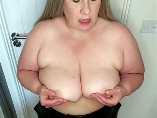 Mrs Leather - Three Bras Two Boobs Pt1 HD Video