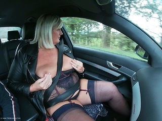 Chrissy UK - Out For A Drive Pt1 HD Video