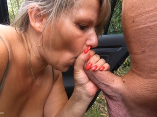 Sweet Susi - Dogging With A Stranger HD Video