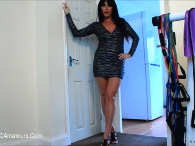 RaunchyRaven - Goddess Raven Hovers Her Heels Over You