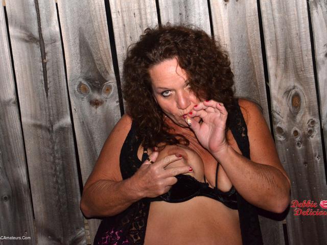 DebbieDelicious - Smoking Hot In Pink  Black Pt2