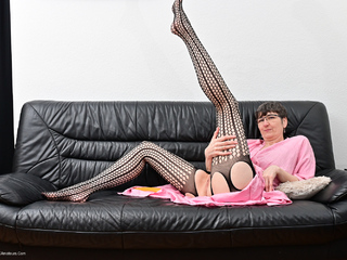 Hot Milf - Banana Fuck In A Catsuit Picture Gallery