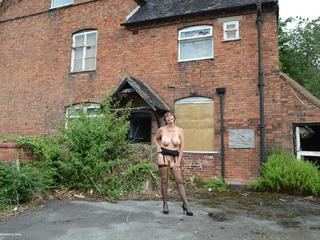 Barby Slut - Abandoned Farm Strip Picture Gallery