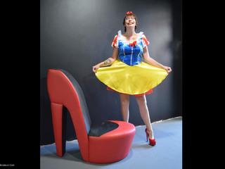 Barby Slut - Xmas Panto Snow White Pt1 HD Video