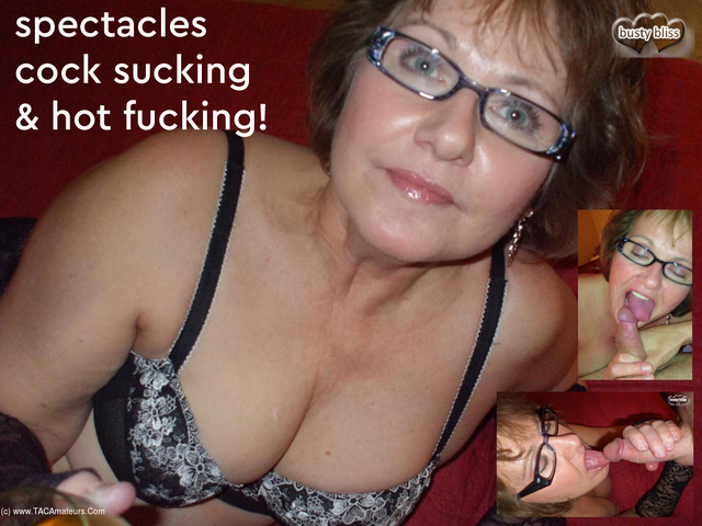 BustyBliss - Why Does Auntie Bliss Wear Her Glasses