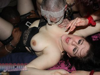 Heavenly Smut - Emma Anna and Lolita gangbang party 2 Picture Gallery