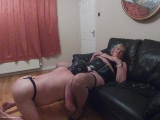 Chrissy UK - Training A Gimp HD Video