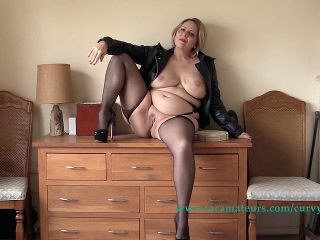 CurvyClaire - Simply Leather Pt4