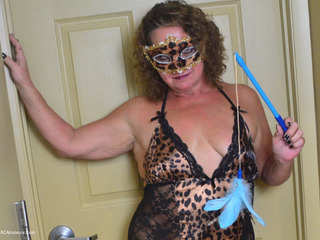 Debbie Delicious - Masked Kitty Gets Naughty Pt1 Picture Gallery