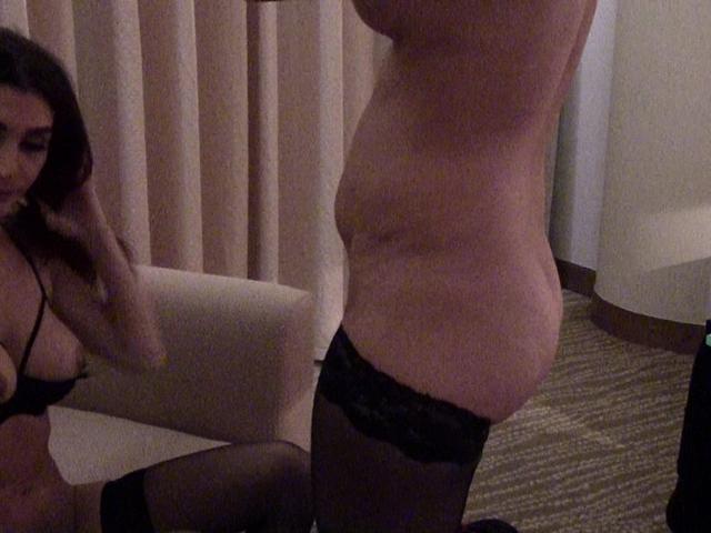 SexyAlinaXXX - Lesbian Hotel Pt2