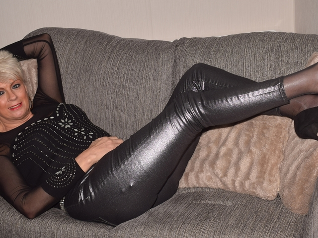 Dimonty - Black Leather Trousers
