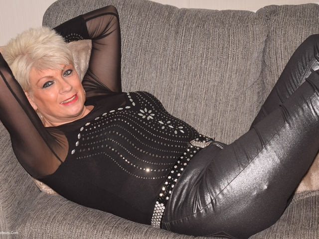 Dimonty - Black Leather Trousers Pt3
