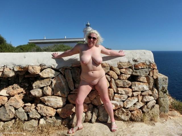 Barby - Majorca Masturbation At The Lighthouse