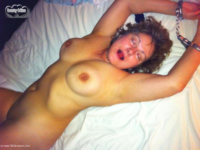 BustyBliss - Cuffed  Horny