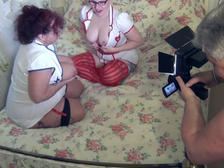 Mollie Foxxx - Spy Cam - Two Naughty Nurses Pt1 HD Video
