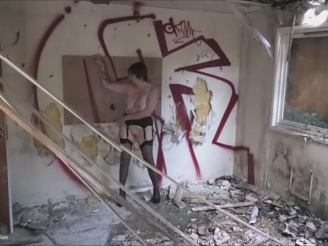 BarbySlut - Derelict House Shoot Pt2