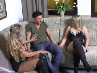 Sweet Susi - Threesome Fucking HD Video