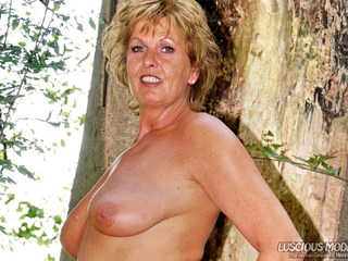 Luscious Models - Mature Lady M Getting Wood Pt3 Picture Gallery