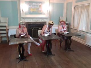 Dimonty - Three Naughty Students Pt1 HD Video