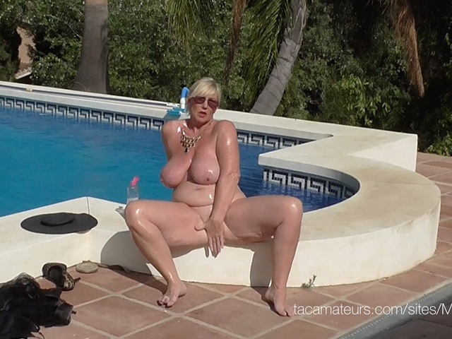 Melody - Swimsuit  Baby Oil