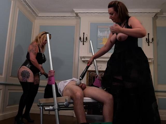 SaraBanks - Mistress Sara  Katie Play With Jonny Pt2