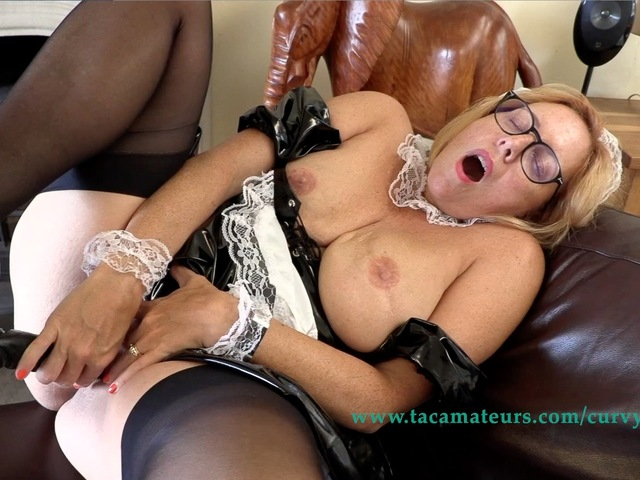 CurvyClaire - French Maid Fun Pt3