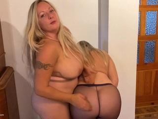 Sweet Susi - Dirty Talking Nylon Pussies HD Video