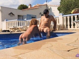 Anne Swinger - Ann  The Hot Pool Caretaker HD Video
