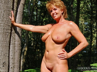 LusciousModels - Mature Lady M Smoking In The