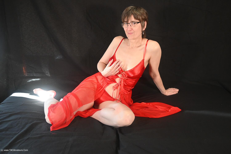 HotMilf - Red Lingerie